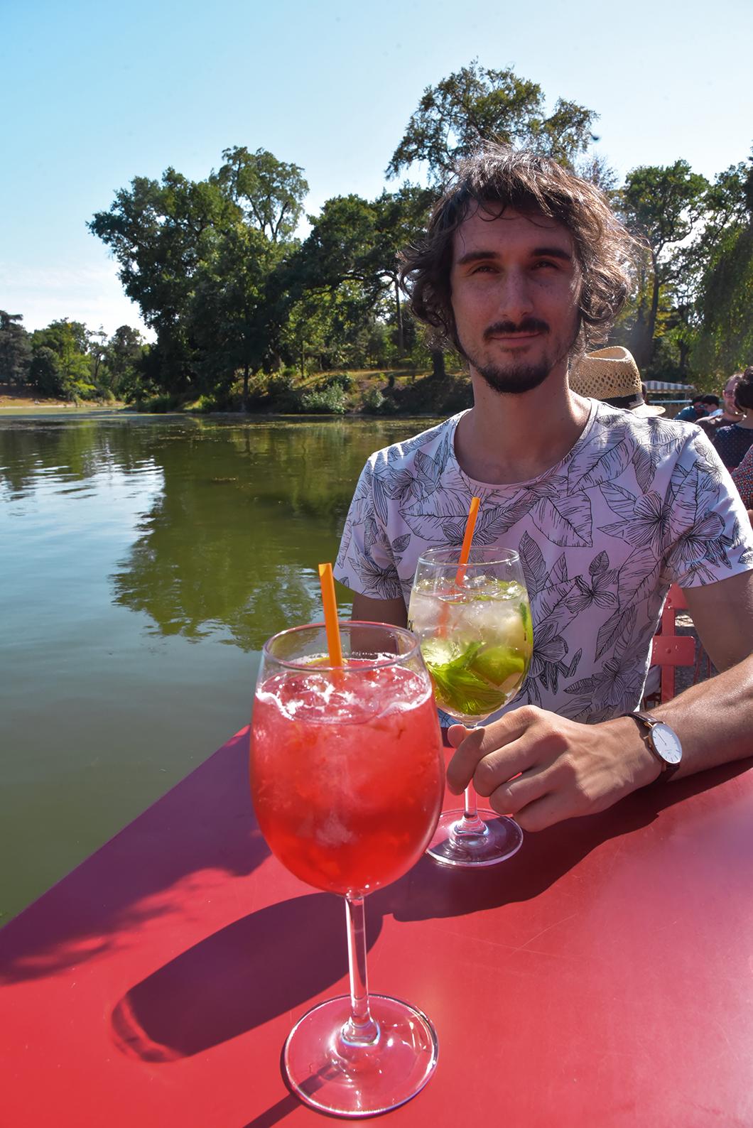 Où boire un verre l'été à Paris ? Le Chalet des Îles