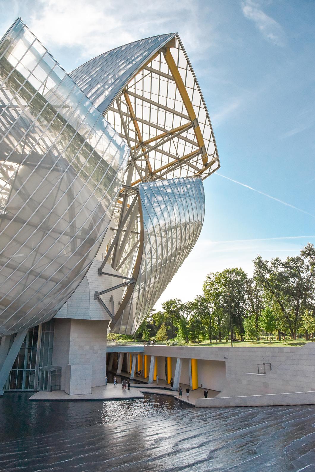 La Fondation Louis Vuitton à Paris