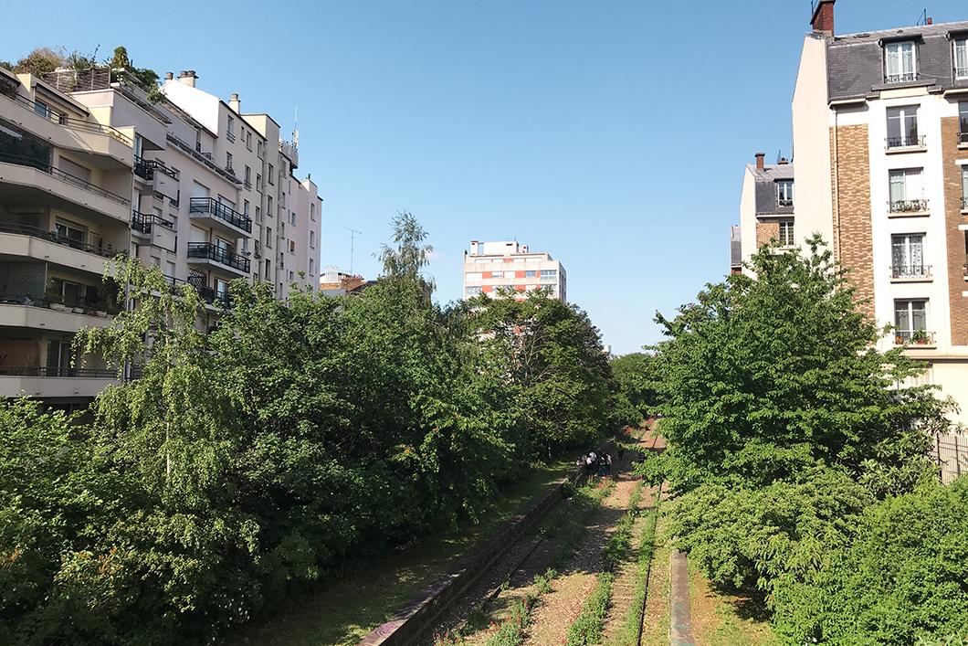 Randonnée GR 75, Paris 12eme