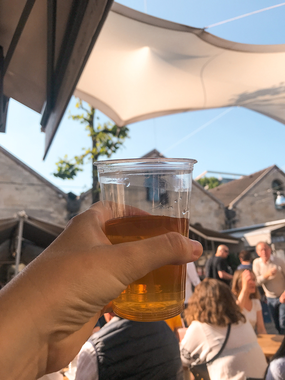 Boire un coup au Bercy Village