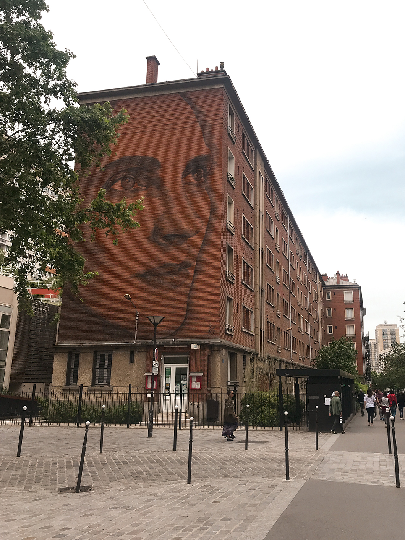 Street art dans le 13eme arrondissement de Paris