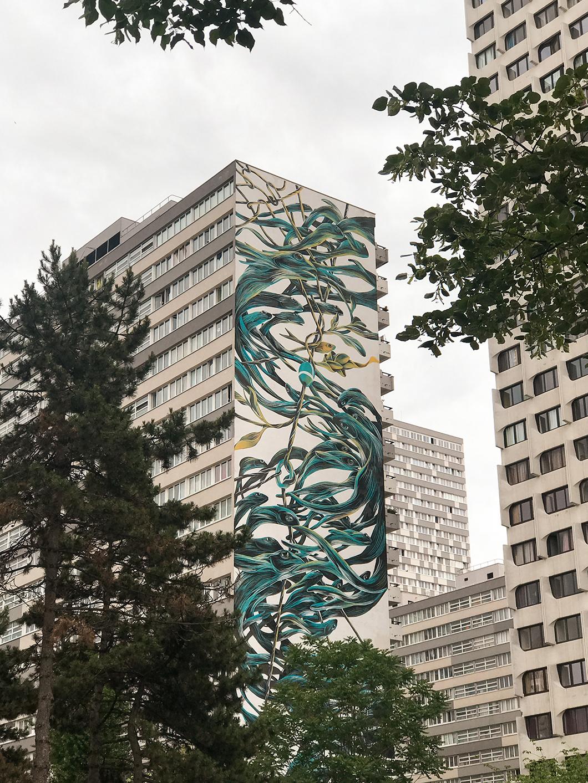 Street art dans le quartier chinois de Paris