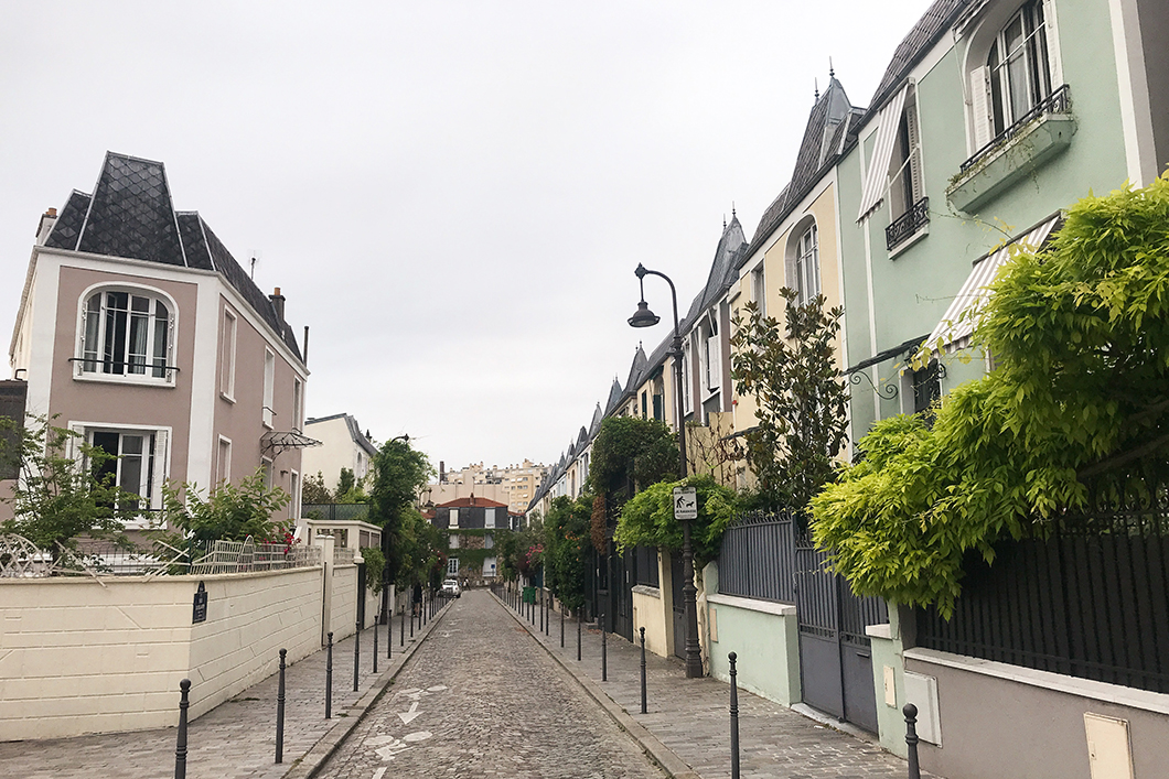 Rue Dieulafoy à Paris
