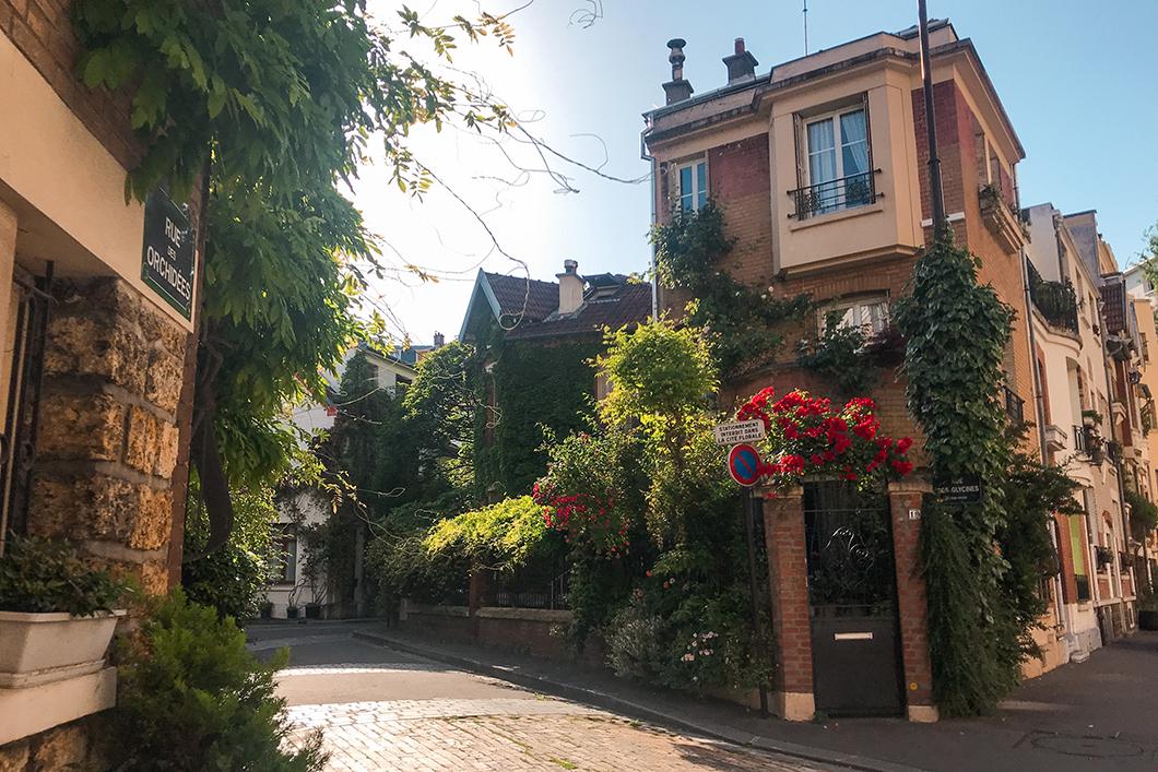 La Cité Florale dans le 13eme arrondissement de Paris