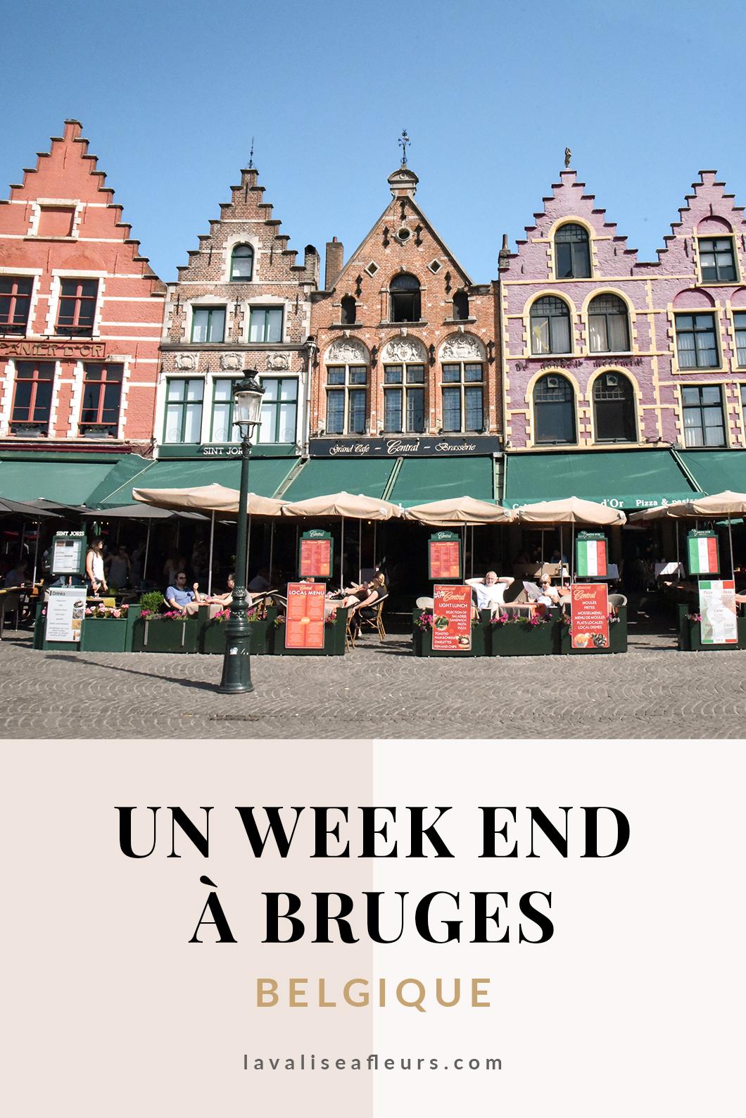 Un week end à Bruges en Belgique