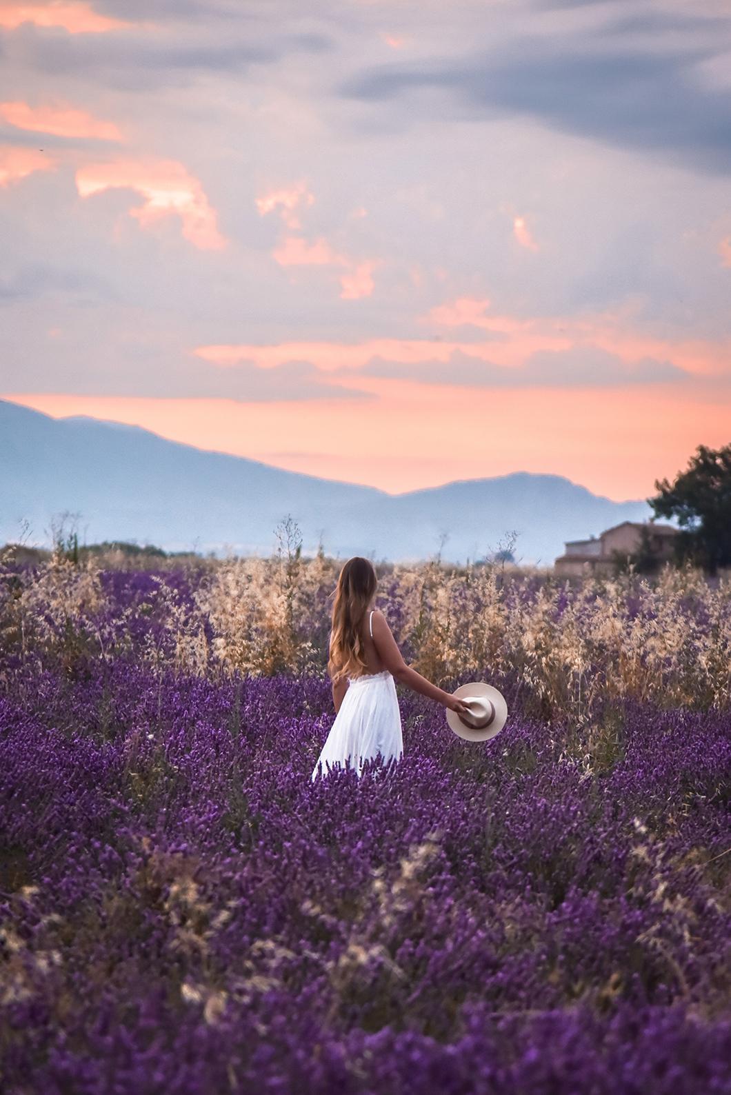 Où admirer le lever de soleil à Valensole ?