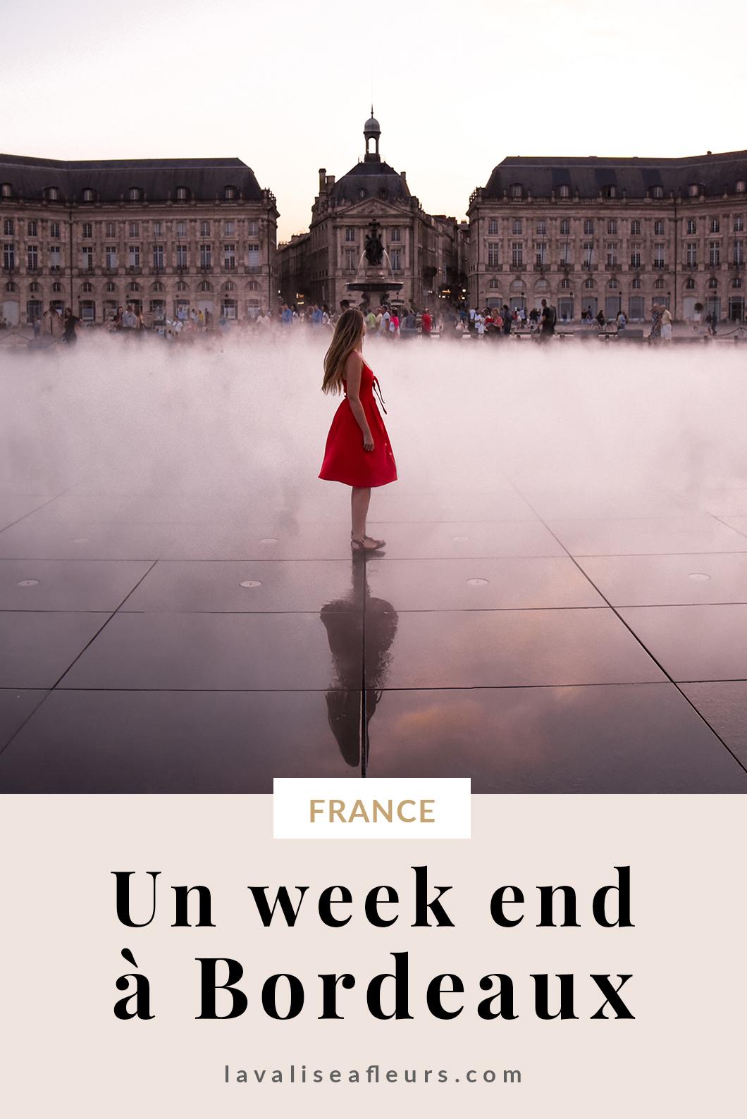 Guide d'un week end à Bordeaux en France
