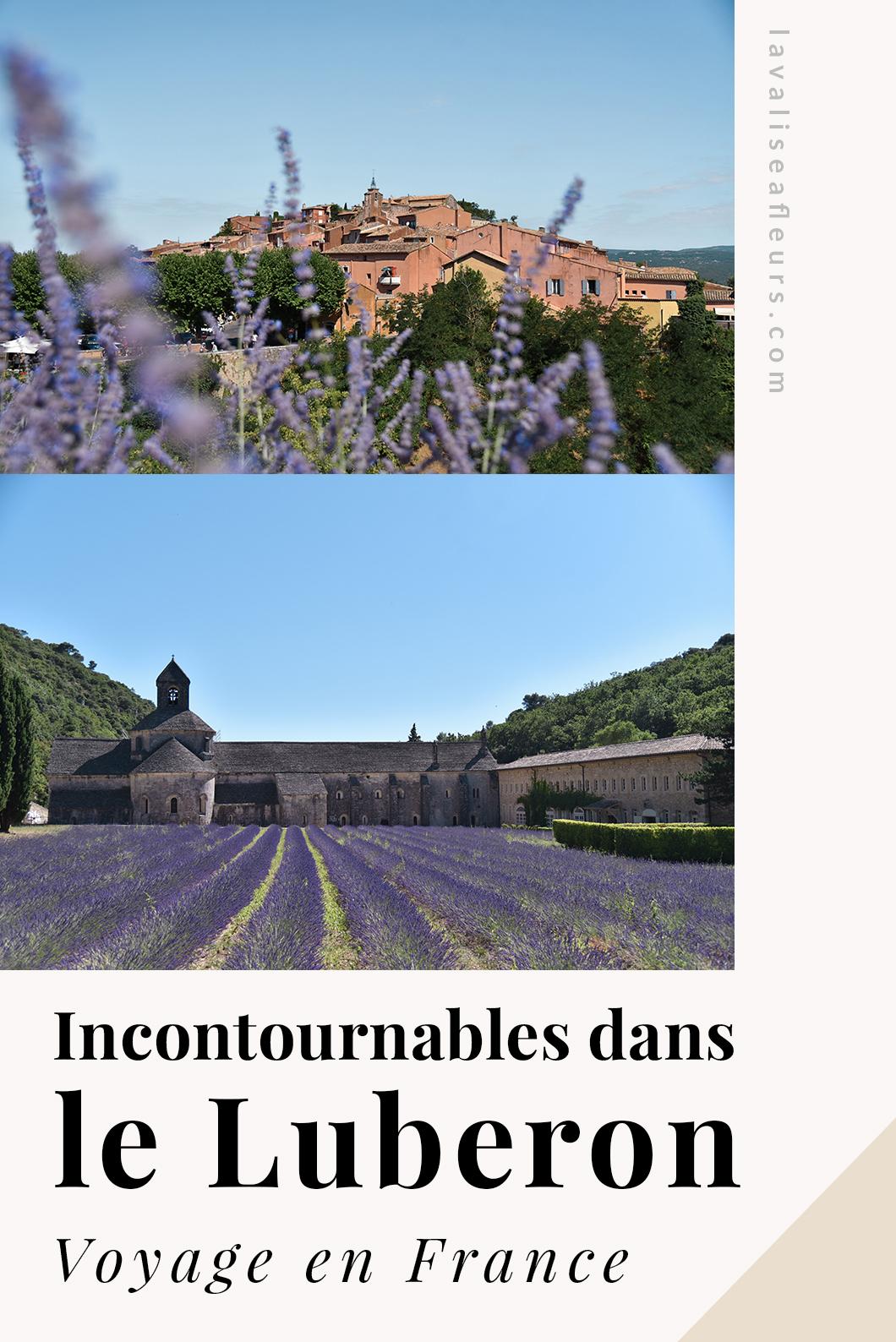 Incontournables dans le Luberon en France