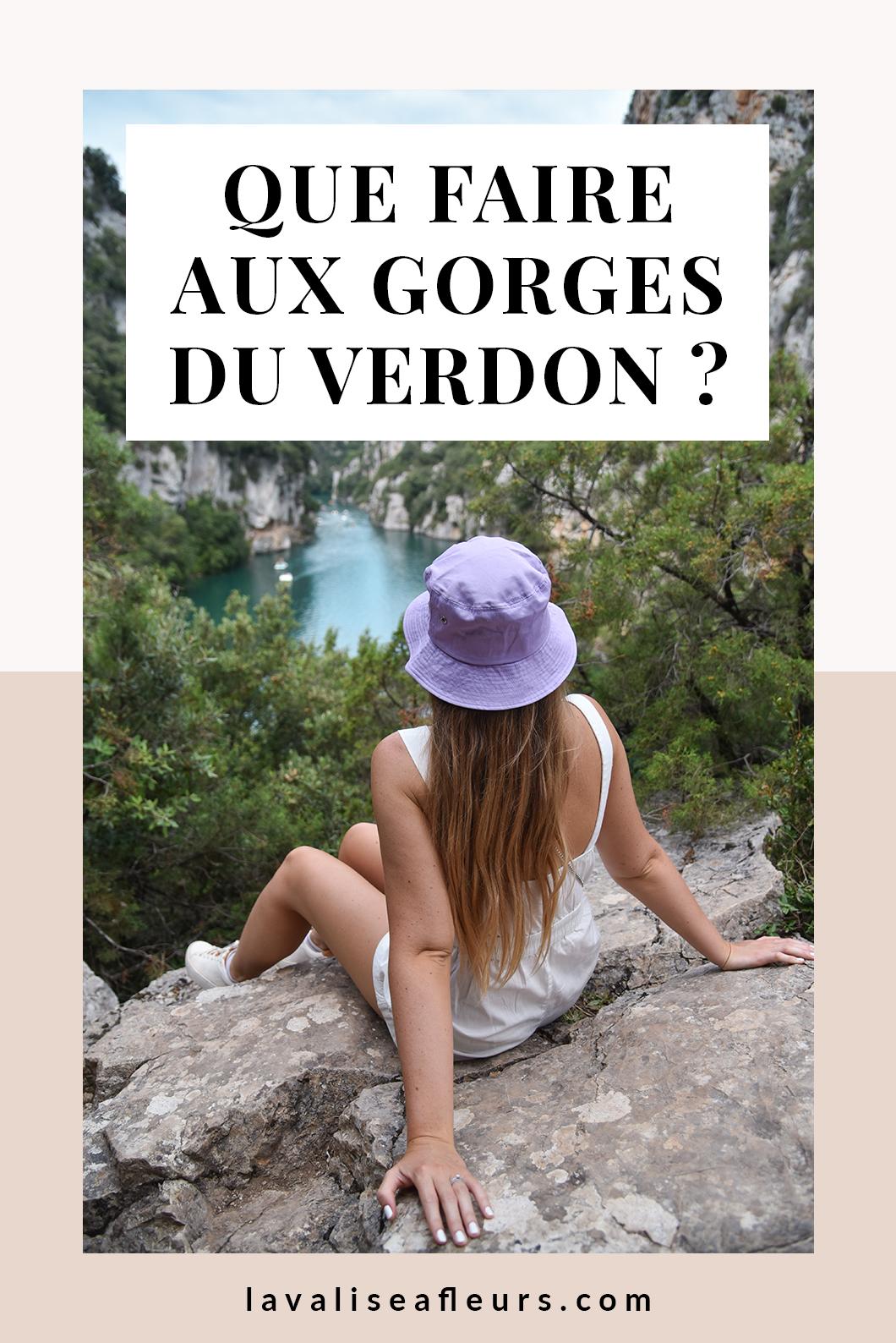 Que faire aux Gorges du Verdon en Provence ?