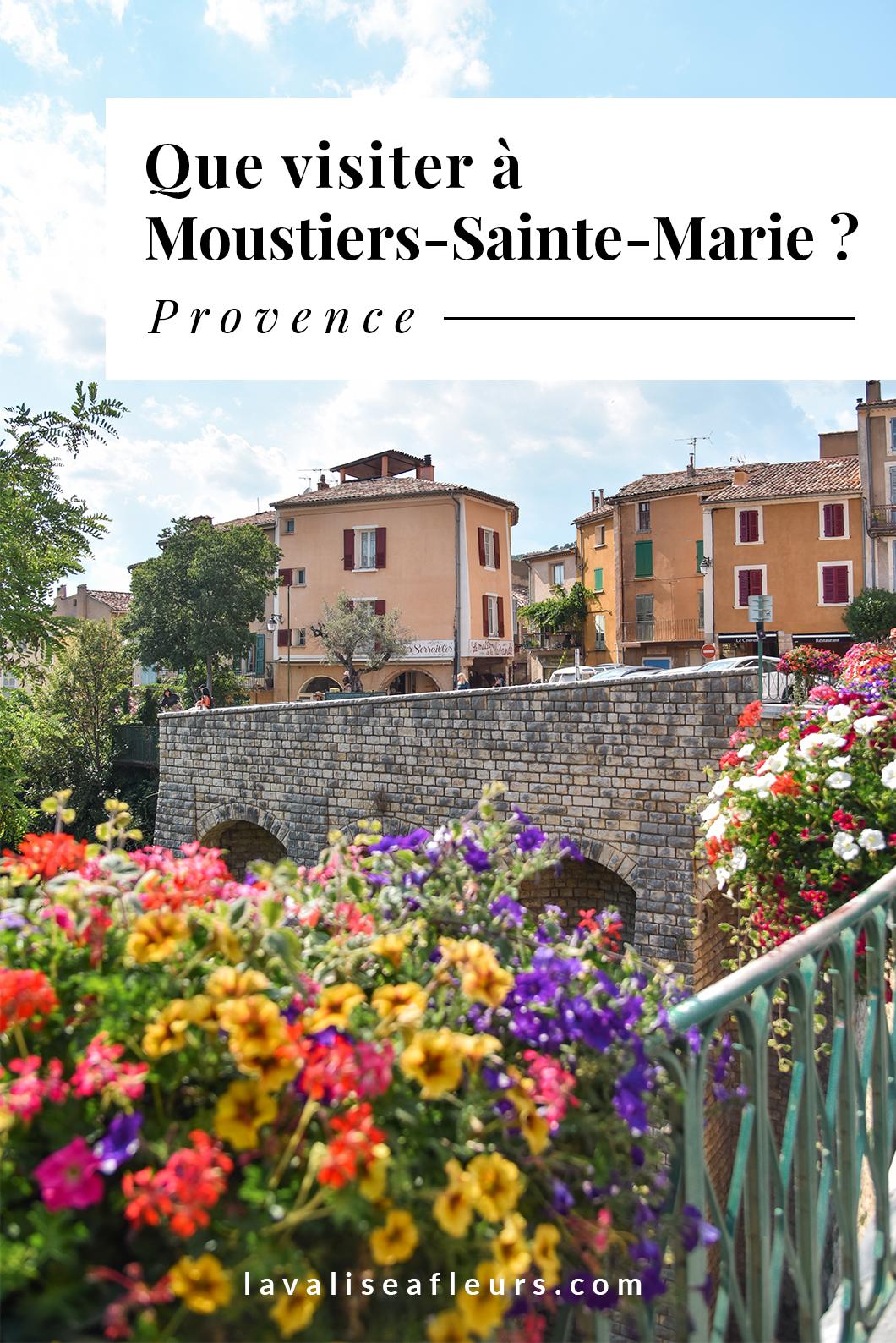Que visiter à Moustiers-Sainte-Marie ?