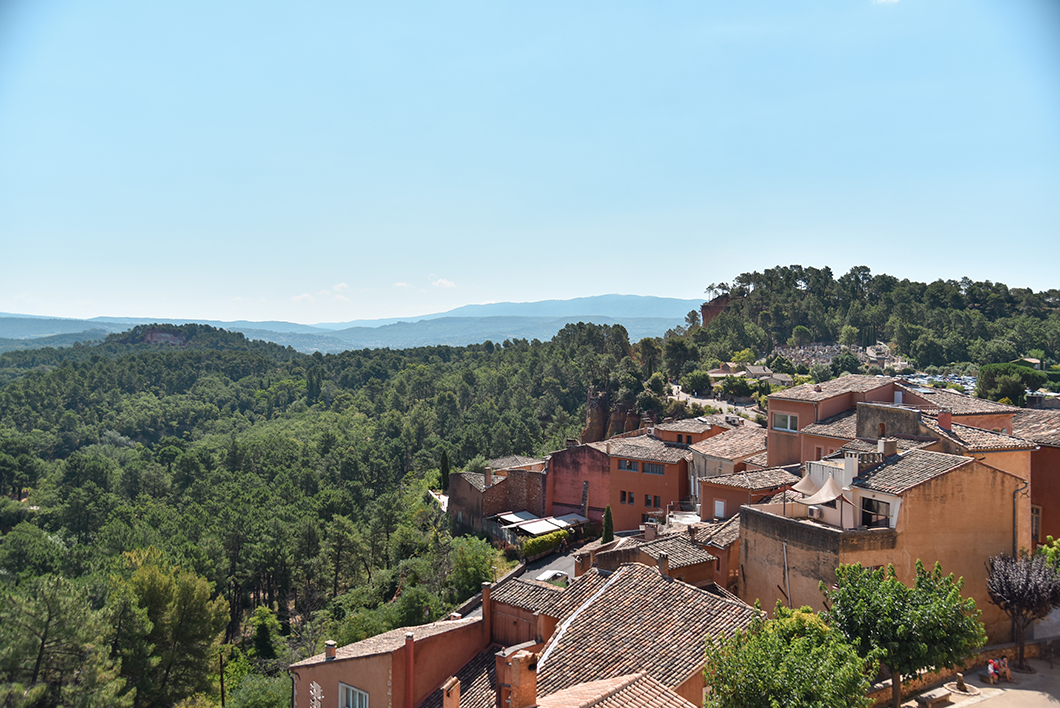 Roussillon, incontournable dans le Luberon en France