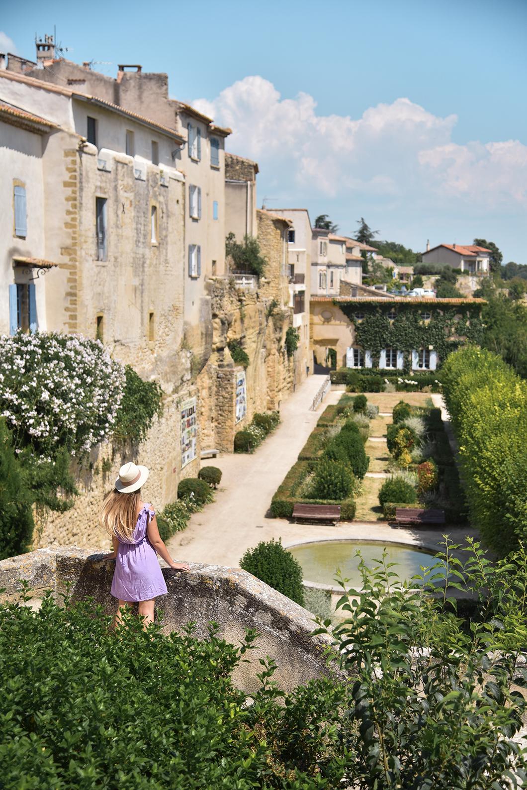 Visite de Lauris sur la route des Châteaux du Luberon