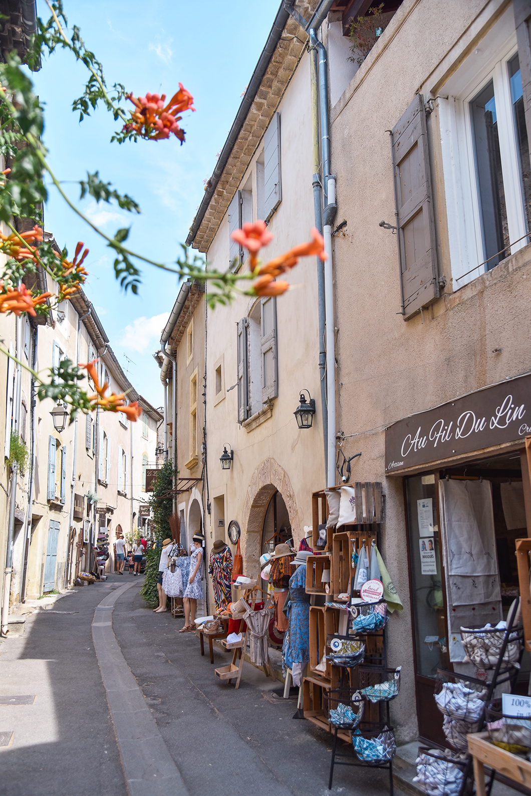Lourmarin, l'un des plus plus villages de France