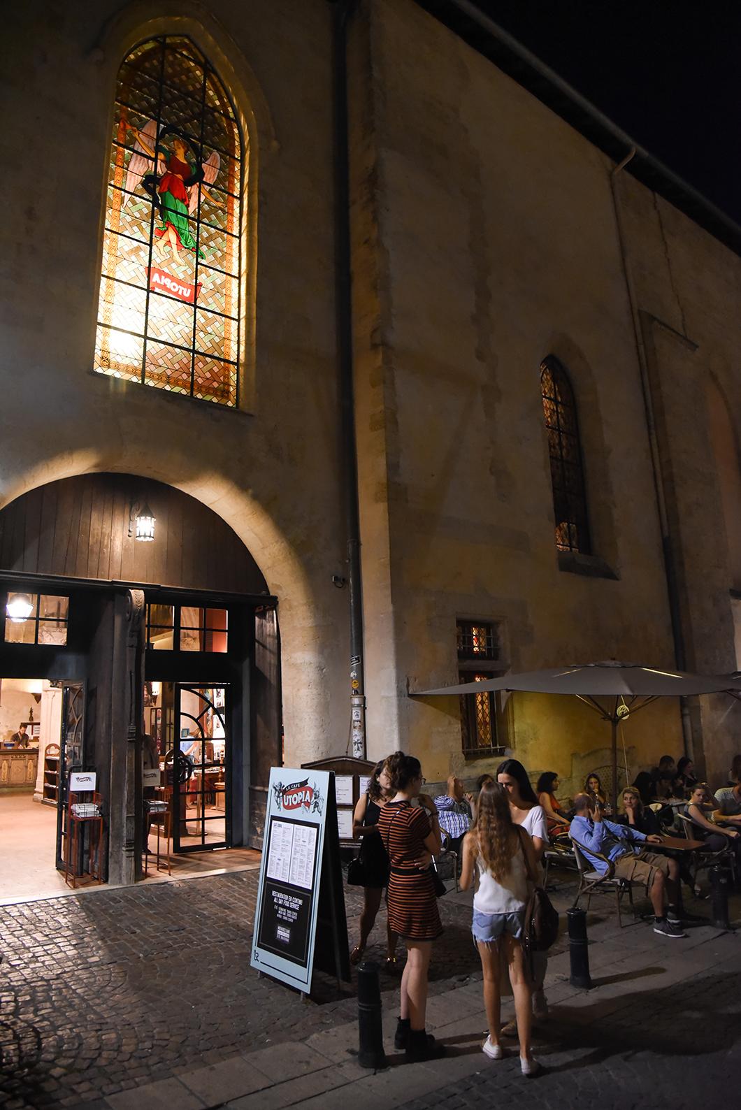 Endroit insolite à Bordeaux, le cinéma installé dans une ancienne église