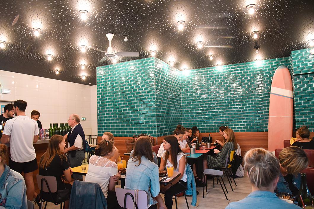 Brunch californien au Café Kokomo à Bordeaux