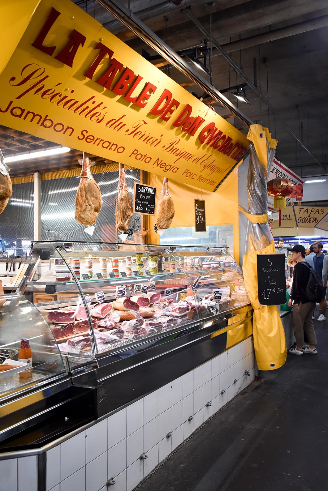 Le marché des Capucins, visite incontournable à Bordeaux