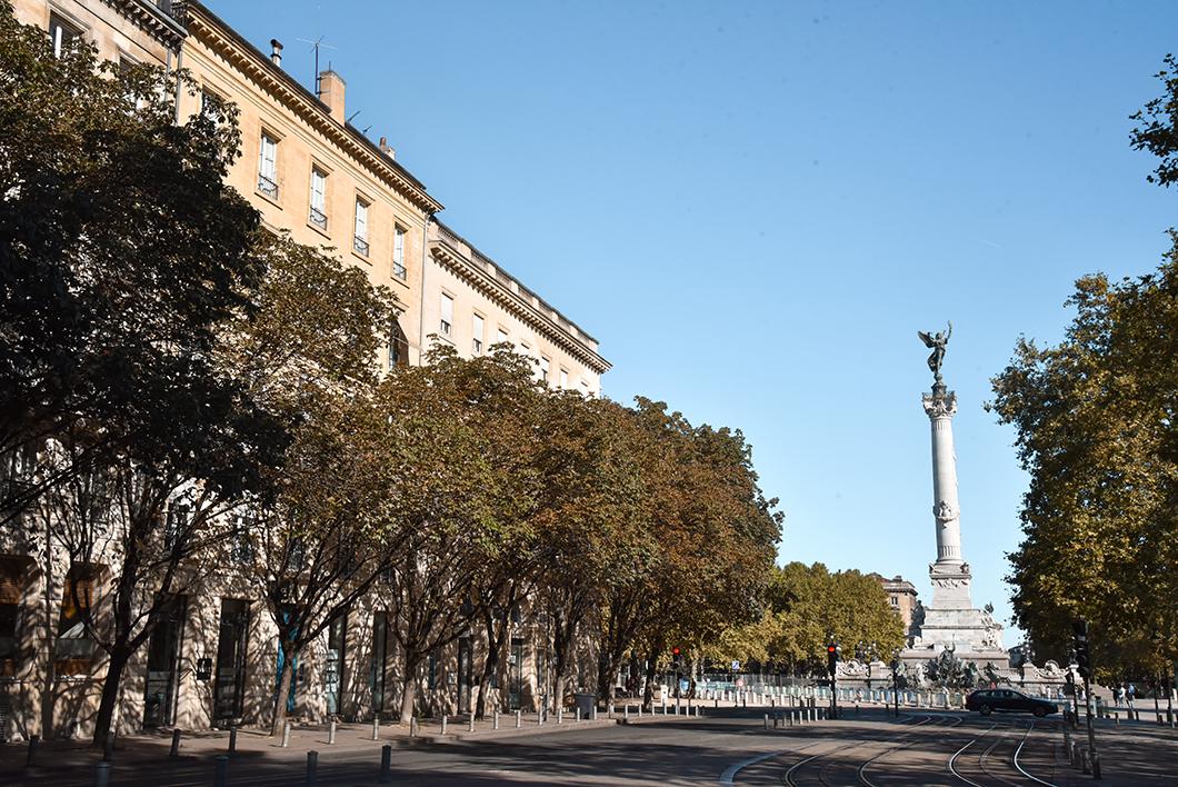 Que visiter à Bordeaux ? Balade à la Place des Quinconces
