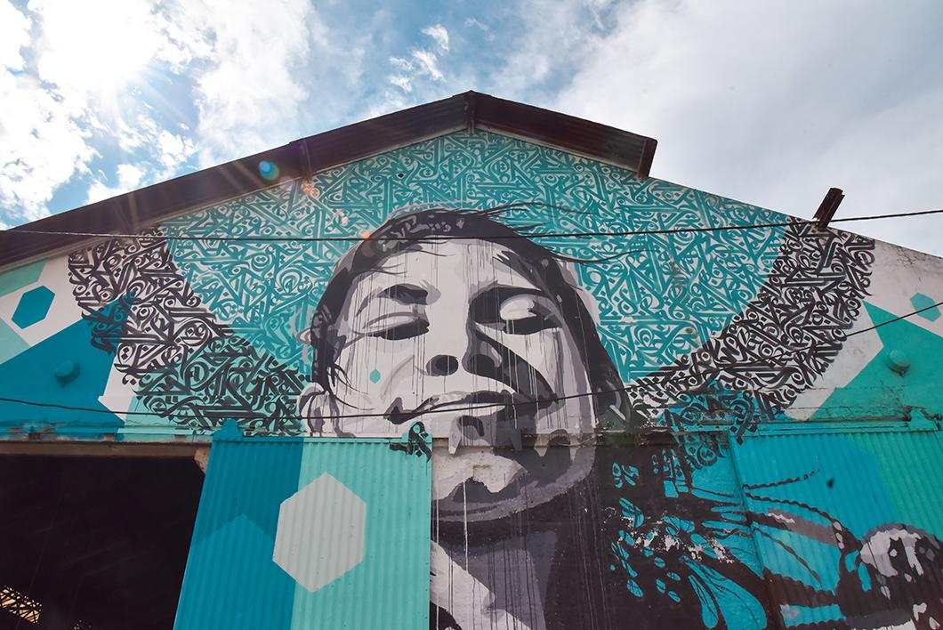 Le street art du Darwin Eco Système, incontournable à Bordeaux