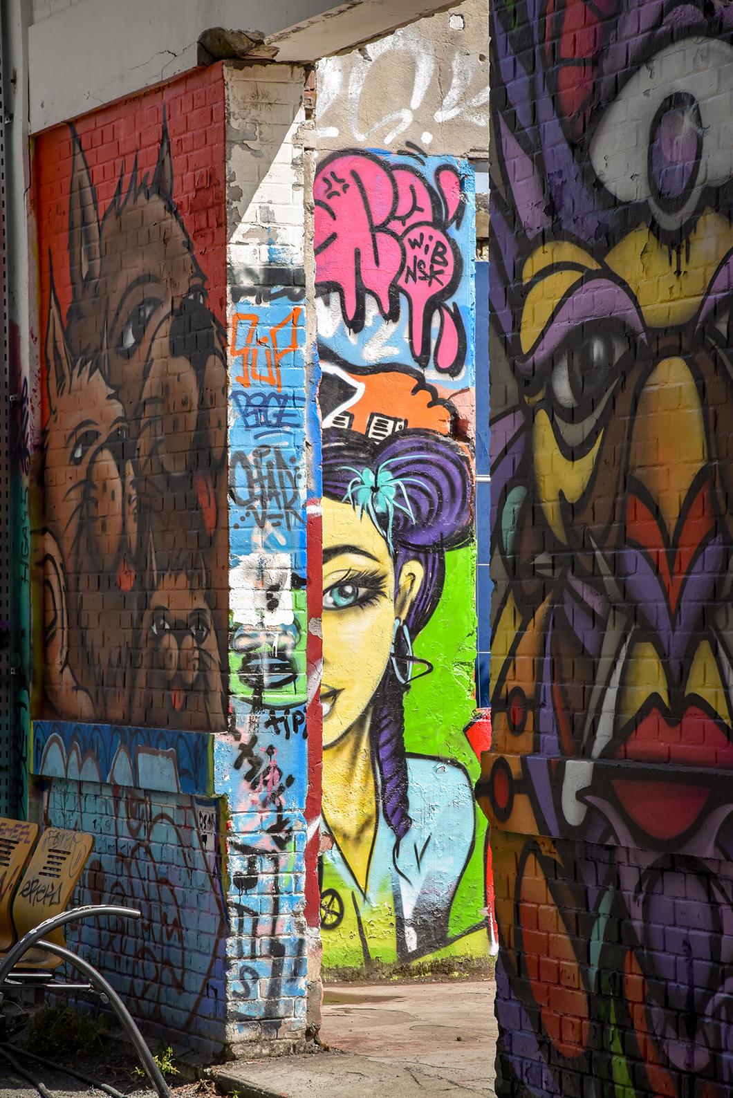 Découverte du street art de Bordeaux