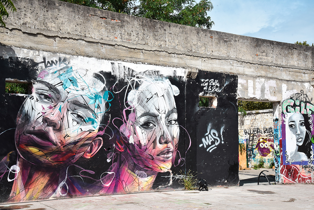 Quelles activités faire à Bordeaux ? Découvrir le street art du Darwin Eco Système