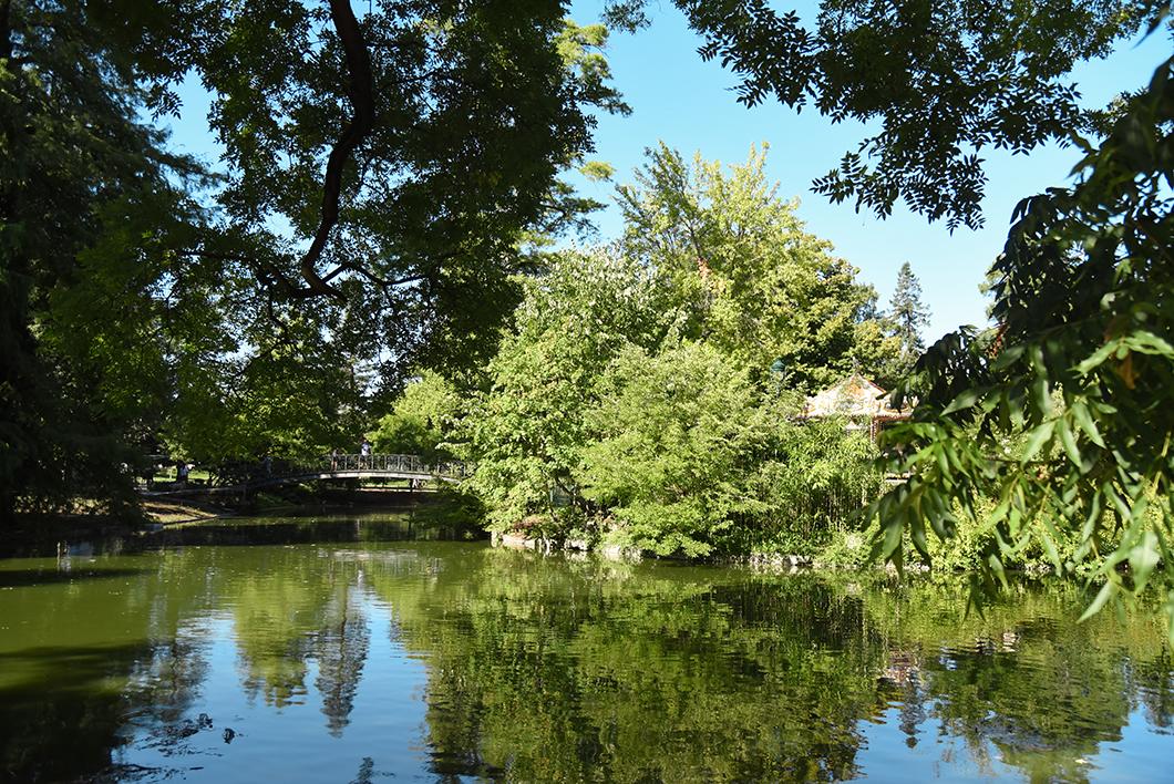 Top des espaces verts à Bordeaux
