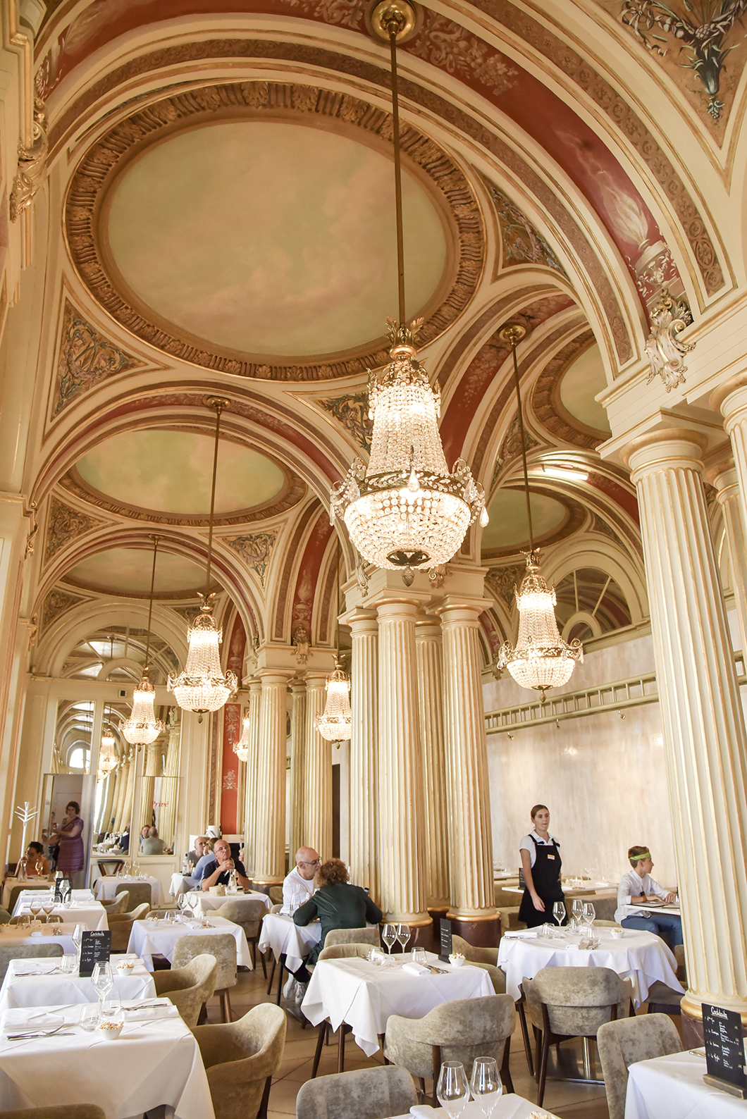 Déjeuner dans le restaurant de Philippe Etchebest à Bordeaux