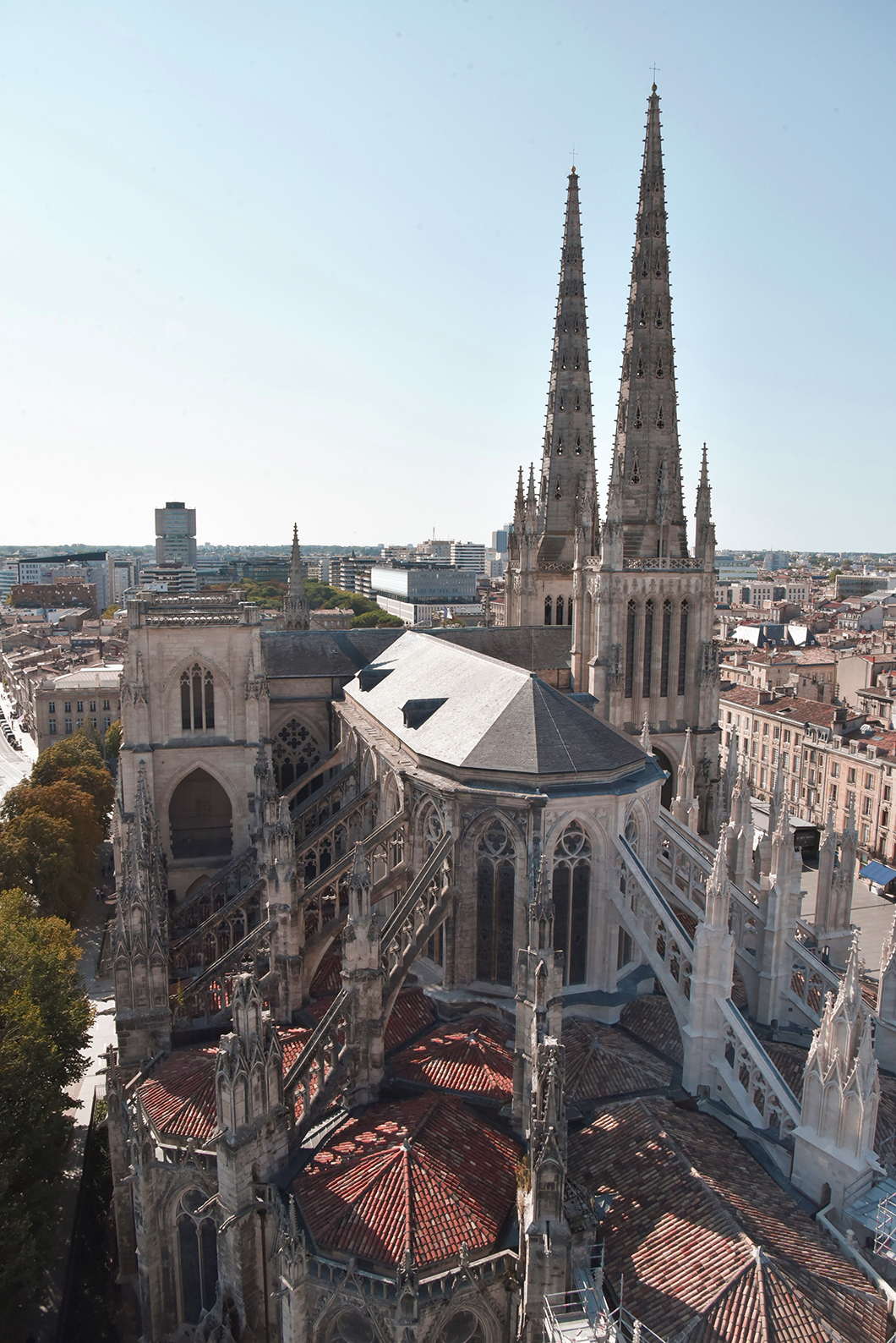 Que faire à Bordeaux ? Admirer le point de vue depuis la Tour Pey Berland