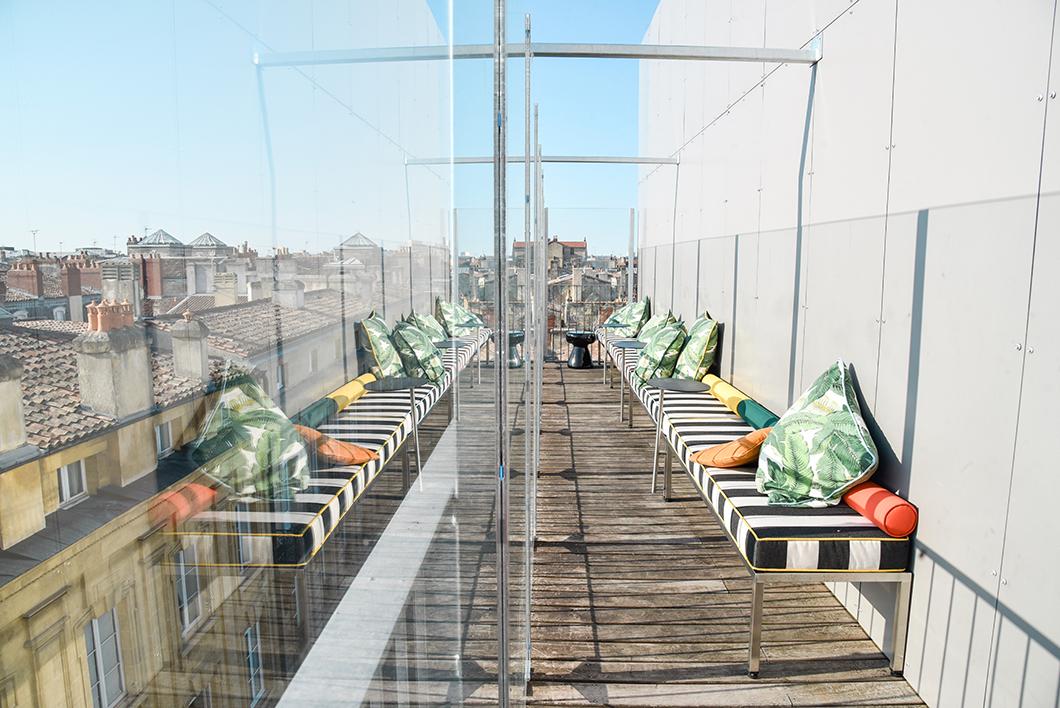 Nos endroits préférés pour sortir à Bordeaux, le rooftop du Mama Shelter