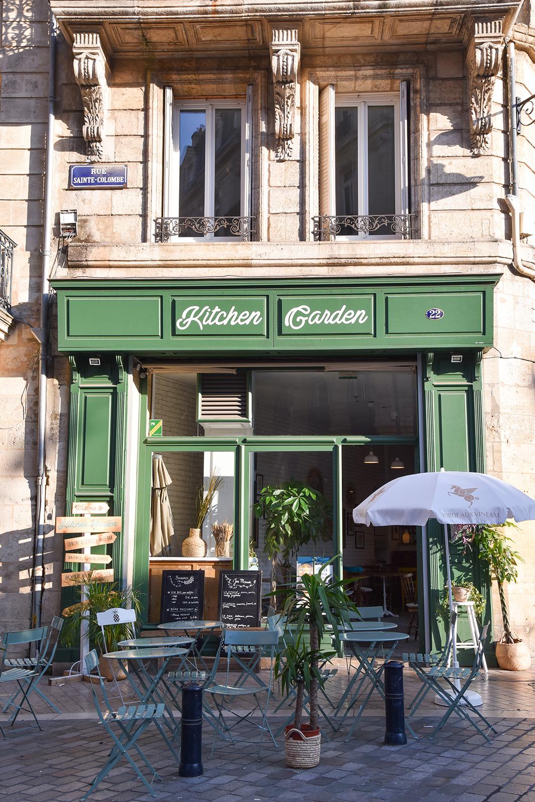 Où manger végétarien à Bordeaux ? Kitchen Garden