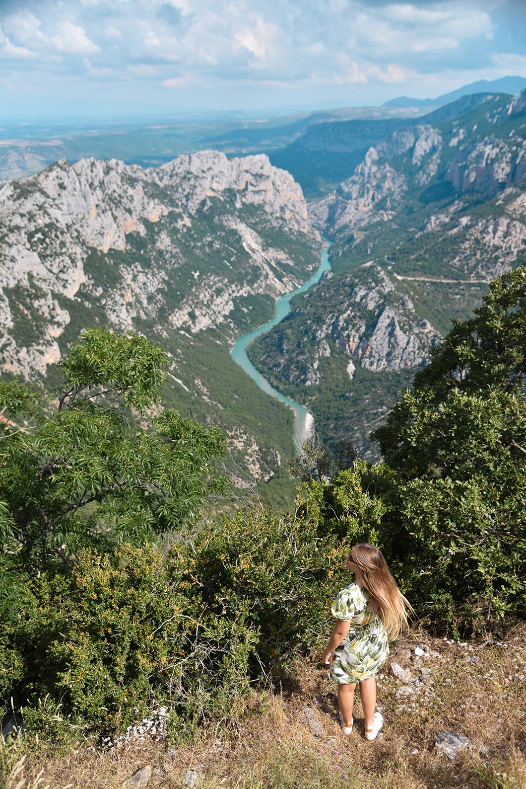 Le plus beaux points de vue dans les Gorges du Verdon