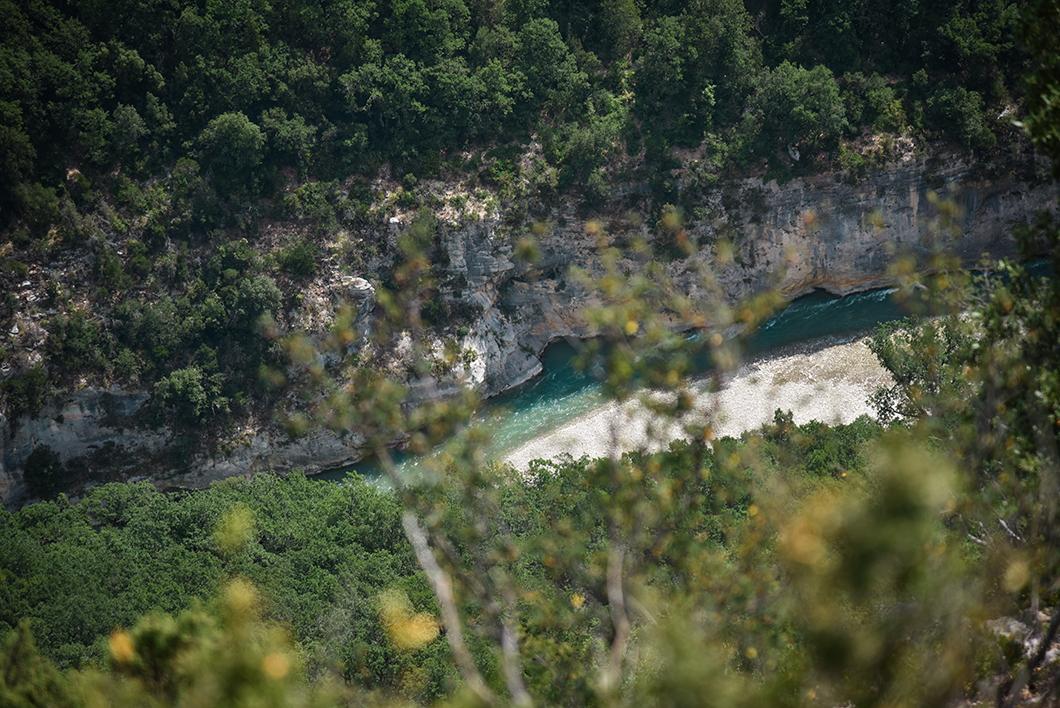 Itinéraire et beaux points de vue dans les Gorges du Verdon