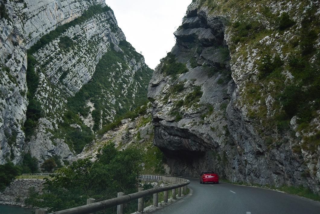 Itinéraire d'un road trip dans les Gorges du Verdon