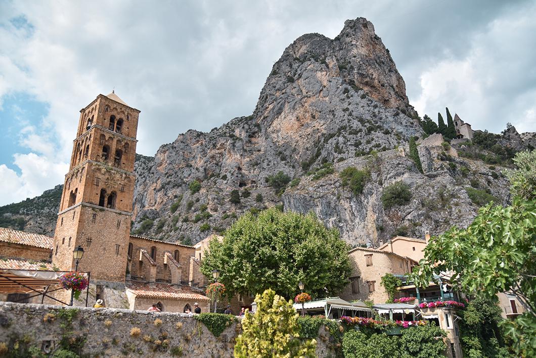 Moustiers-Sainte-Marie, l'un des plus plus villages de France