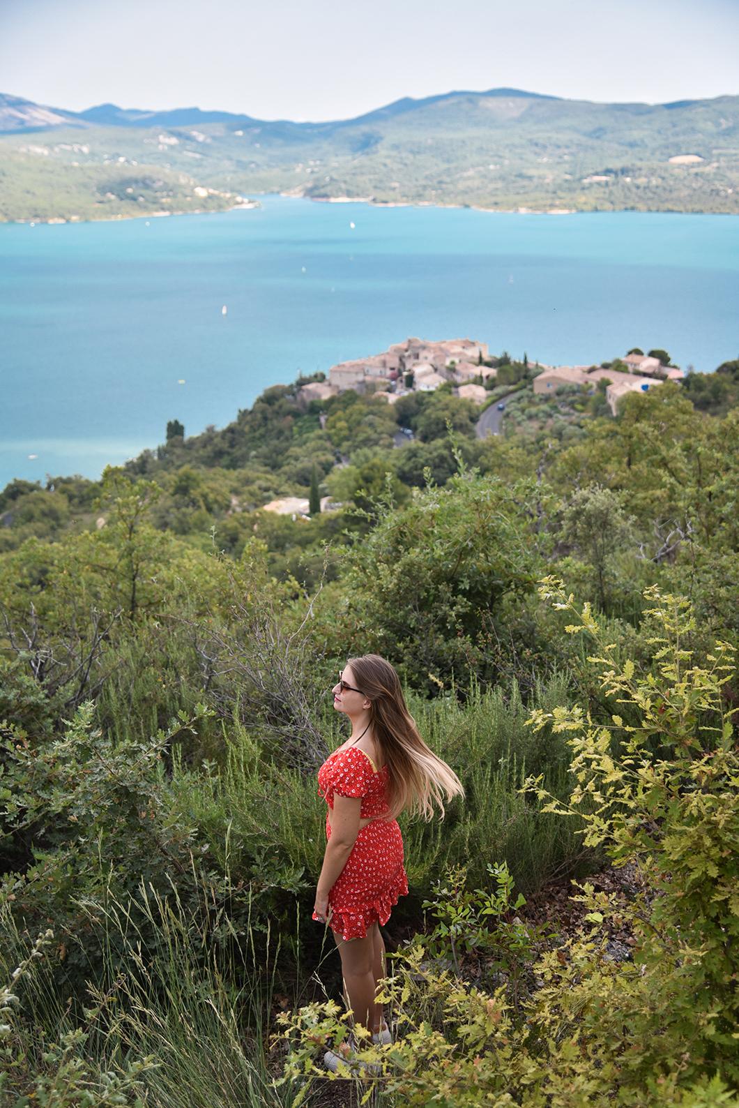 Les plus beaux points de vue à Sainte-Croix-du-Verdon