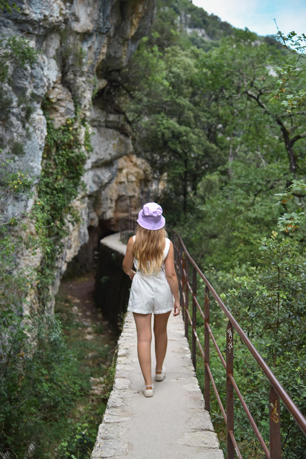 Randonnée pédestre dans les Gorges du Verdon