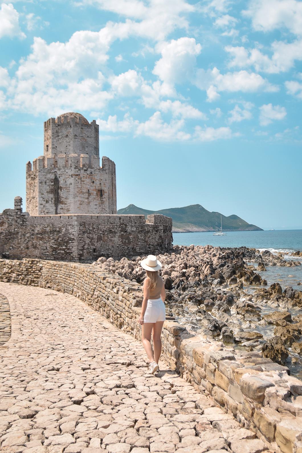 Le Château de Methoni, visite incontournable en Grèce