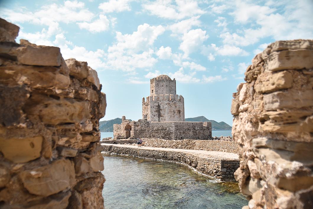 Que faire sur la Costa Navarino ? Visiter le Château de Methoni