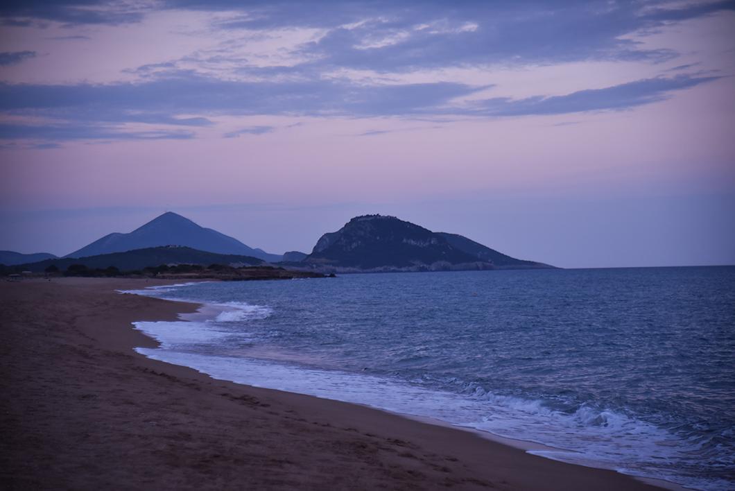Meilleurs spots pour le sunset sur la Costa Navarino