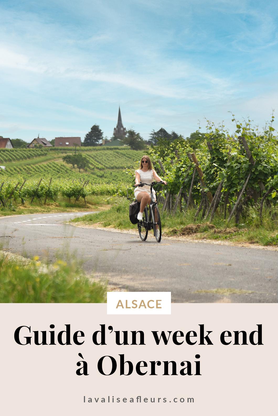 Guide d'un week end à Obernai en Alsace