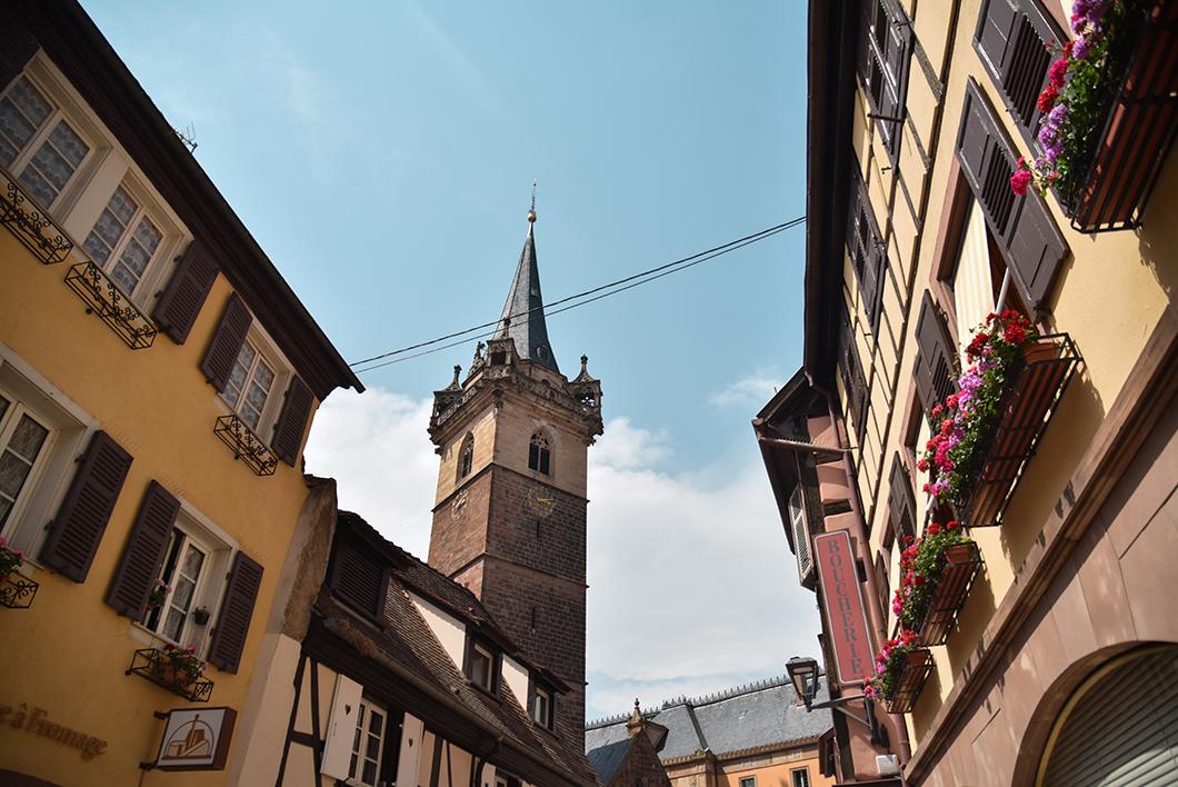 Découverte de la vieille ville d'Obernai
