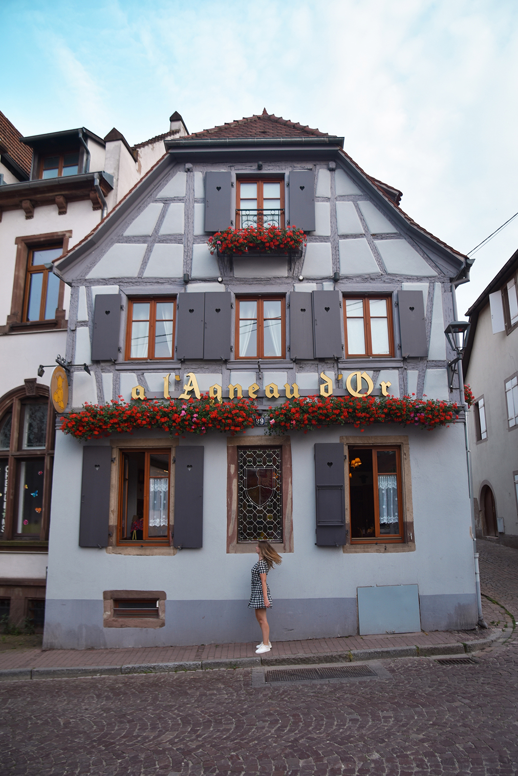 Se balader dans la veille ville de Obernai en Alsace