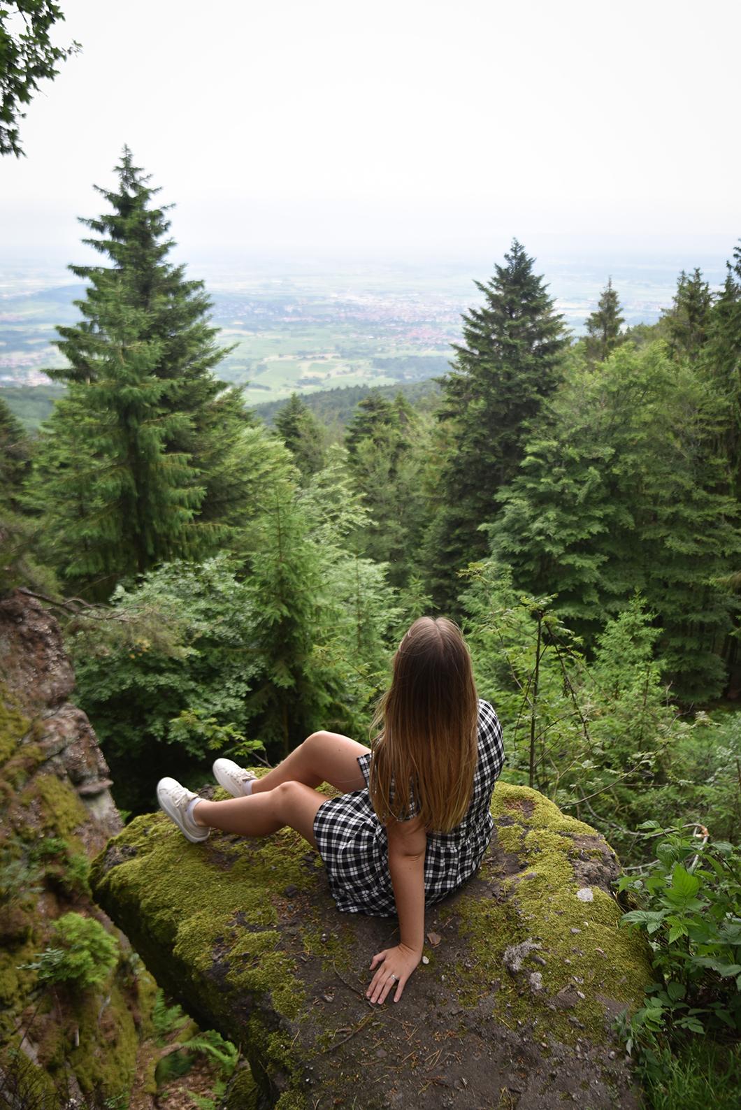 Se balader au Mont Sainte-Odile en Alsace