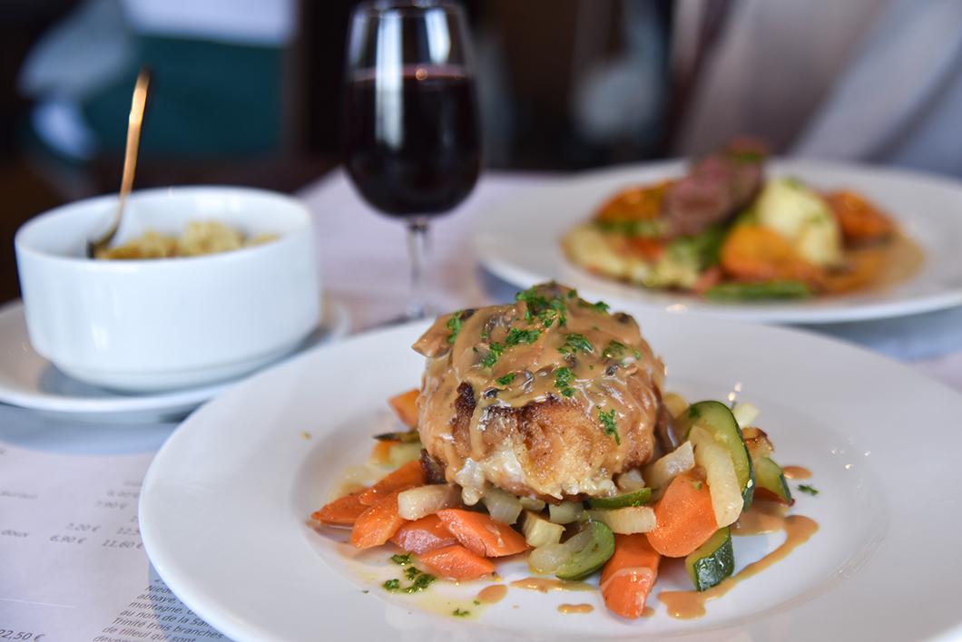 Déjeuner avec vue au restaurant du Mont Sainte Odile