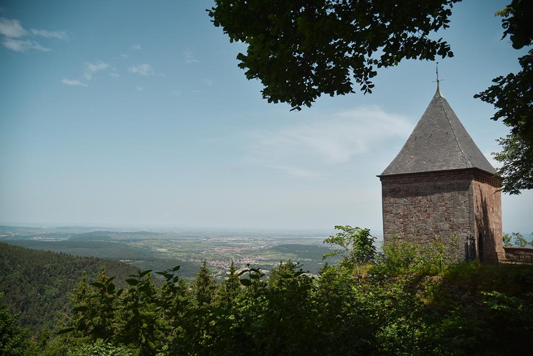 Les plus beaux points de vue au Mont Sainte-Odile