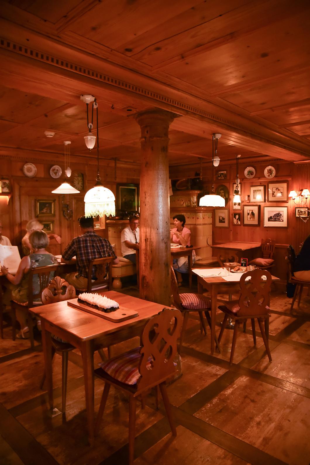 Déjeuner au restaurant du Parc Hotel à Obernai