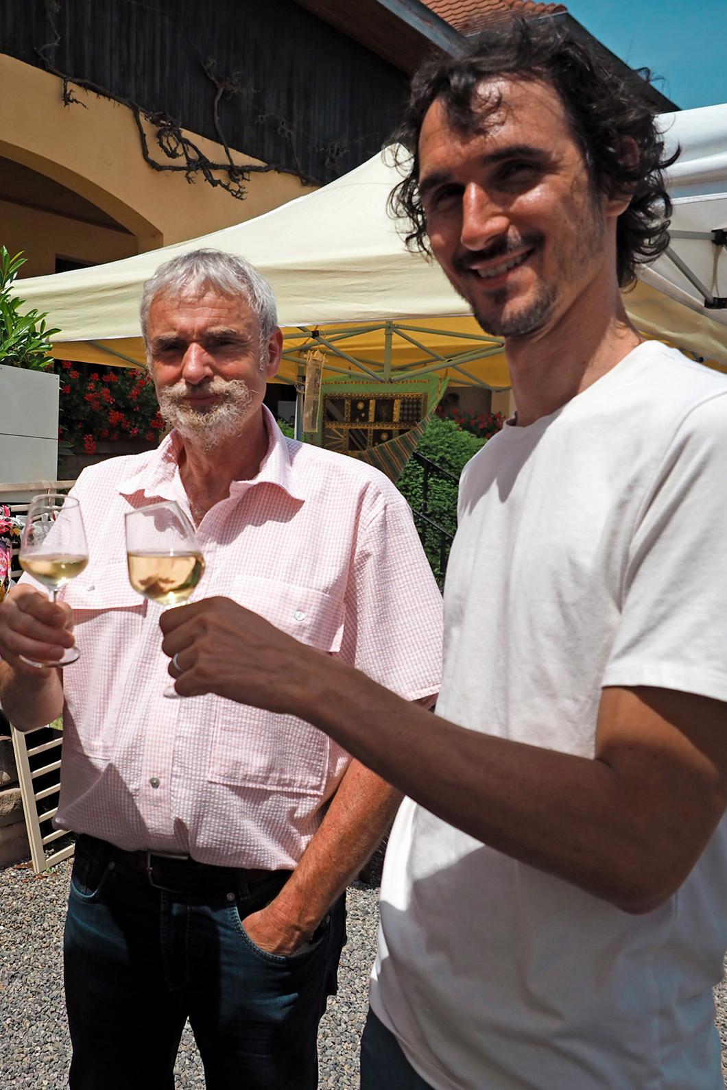 Déguster les Vins d'Alsace Robert Blanck