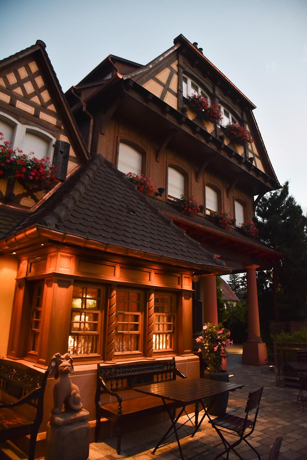 Parc Hôtel, logement de charme à Obernai