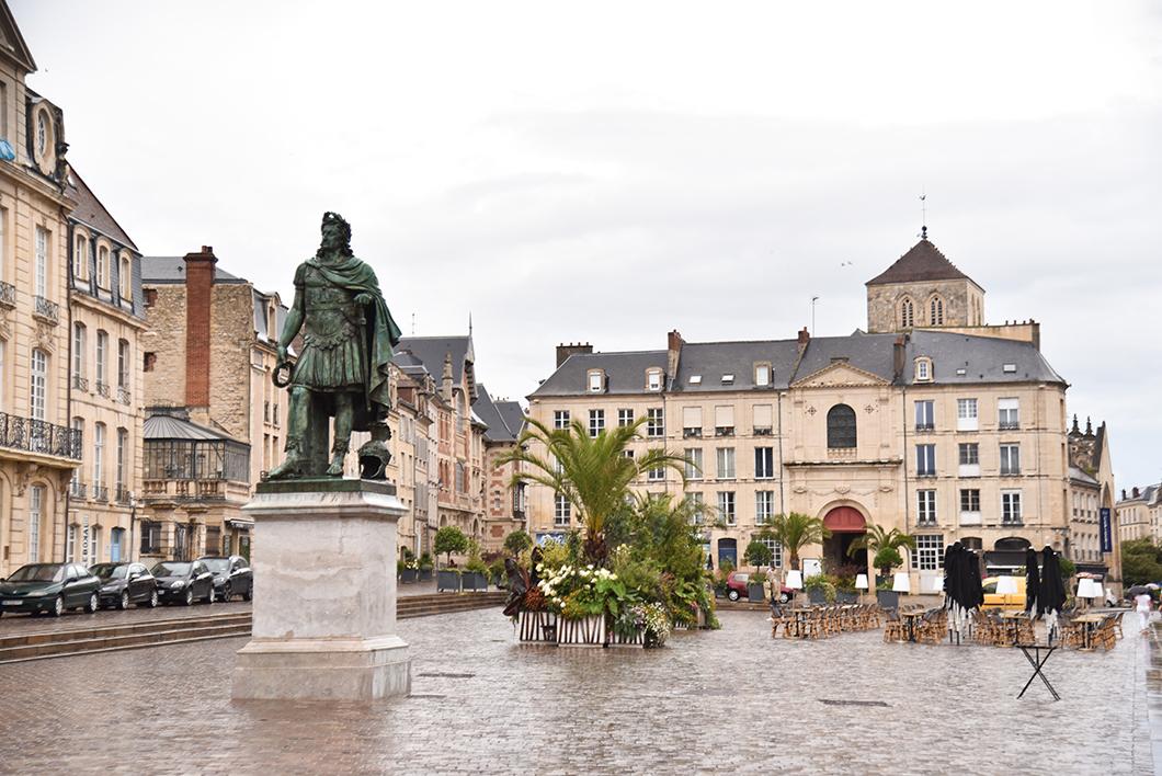 Faire un parcours à Caen en Normandie