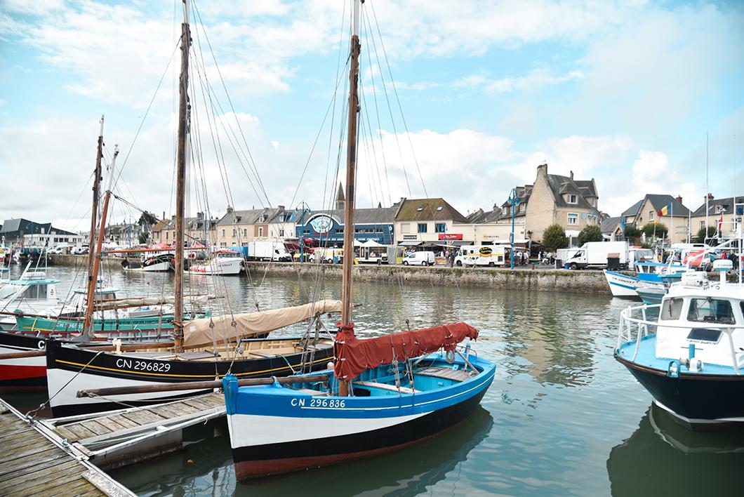 Port-en-Bessin-Huppain, joli port dans le Calvados
