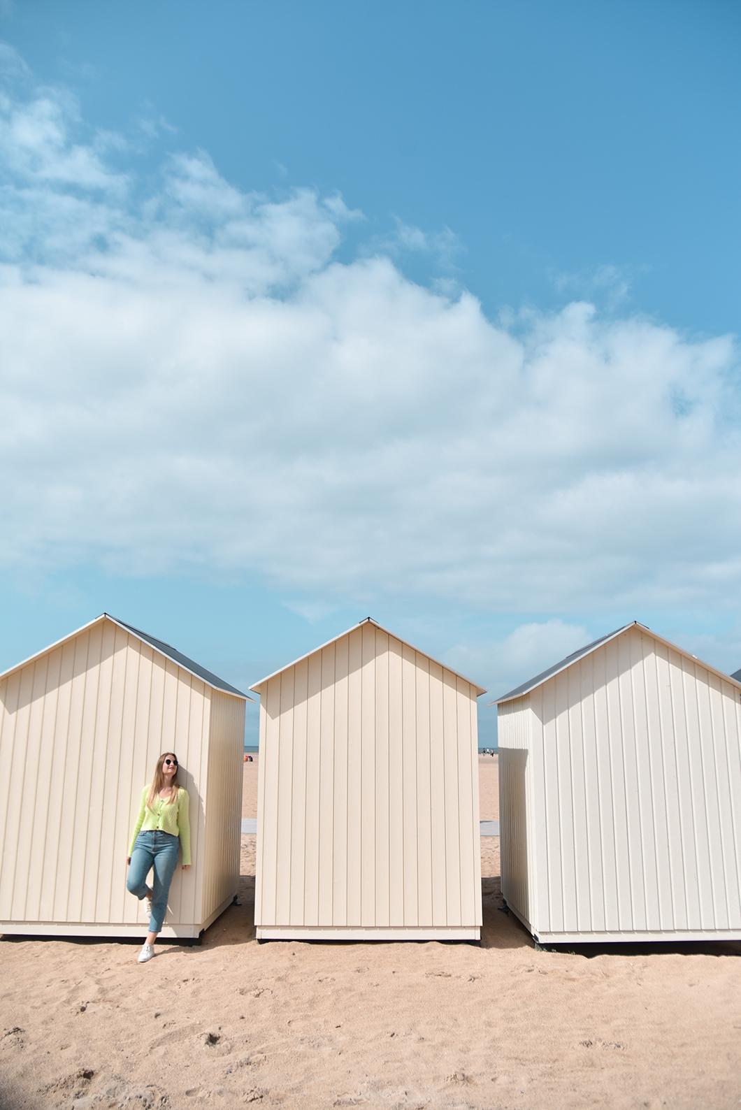 Les jolies cabanes de Ouistreham, incontournable dans le Calvados